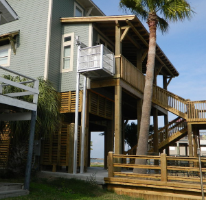 A cargo lift can help you avoid flood damage easylift for Beach house lifts