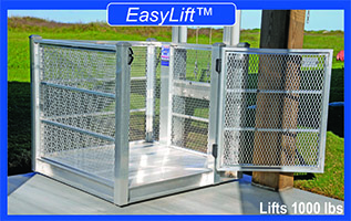 Technical specifications easylift beach house cargo lifts for Beach house lifts